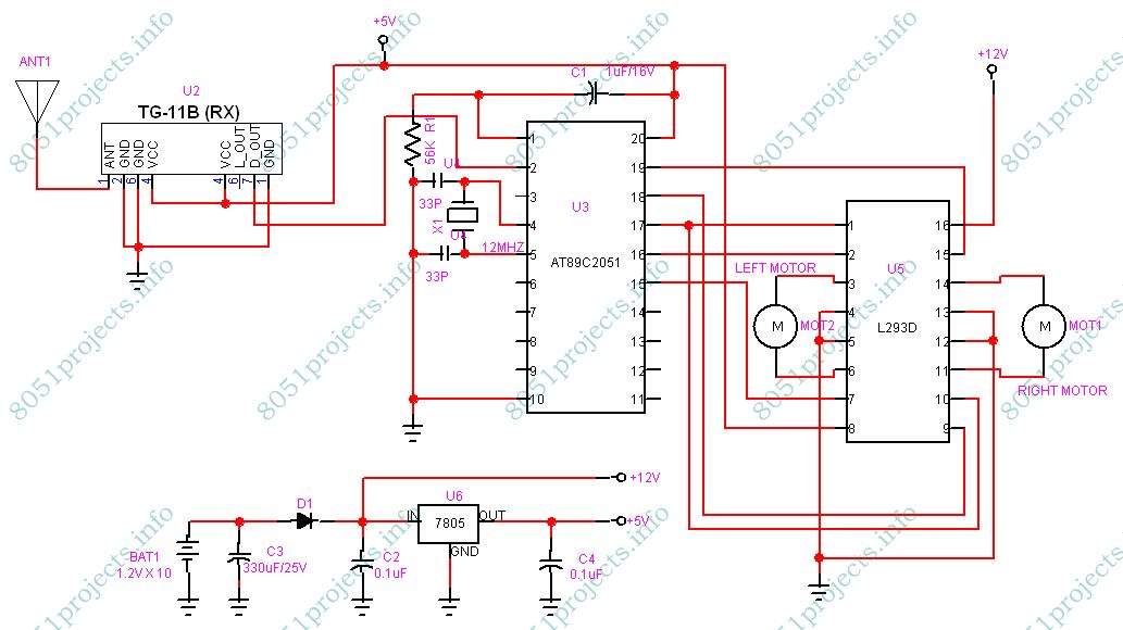 Receiver circuit for rf based robot.jpg